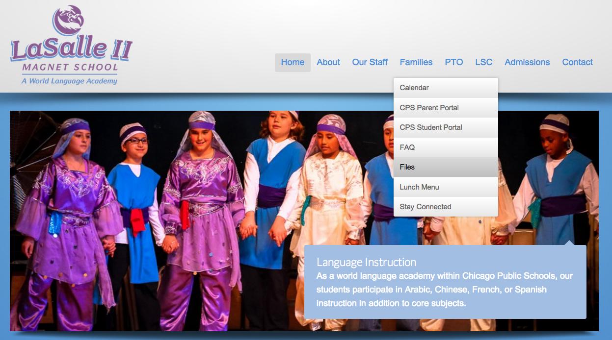 LaSalle II Website Project